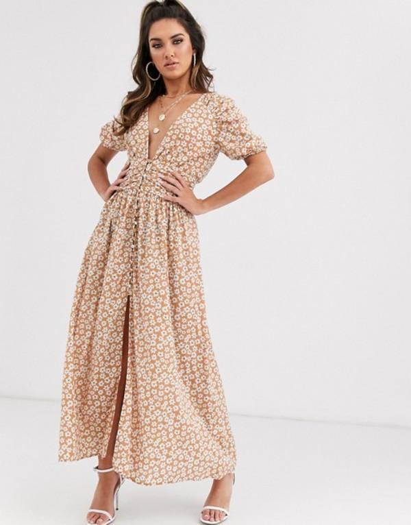 ベックアンドブリッジ レディース ワンピース トップス Bec & Bridge zoe floral midi dress in floral Floral