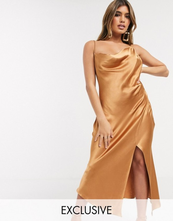 ベックアンドブリッジ レディース ワンピース トップス Bec & Bridge exclusive martini club split dress Cinnamon