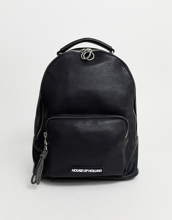 ハウスオブホーランド レディース バックパック・リュックサック バッグ House Of Holland backpack Black