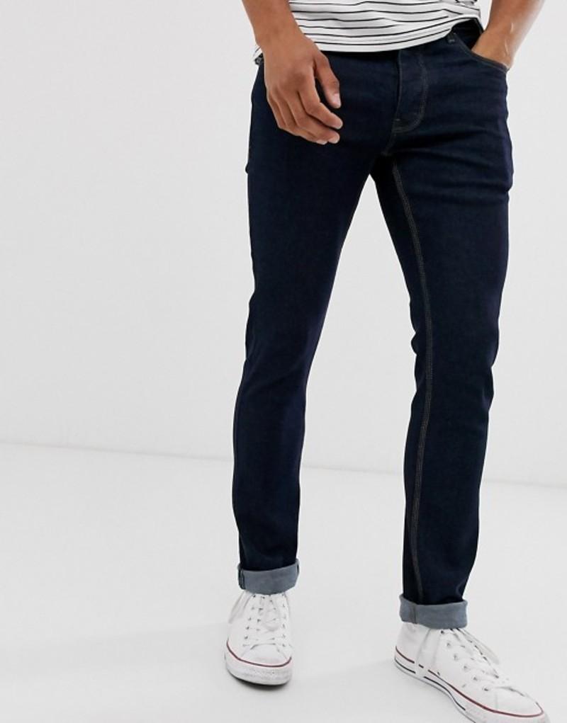 フレンチコネクション メンズ デニムパンツ ボトムス French Connection slim fit indigo wash jeans Blue