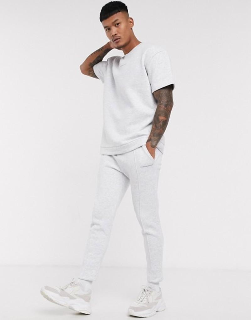 グッドフォーナッシング メンズ カジュアルパンツ ボトムス Good For Nothing cropped sweatpants in gray GraypUMzSV