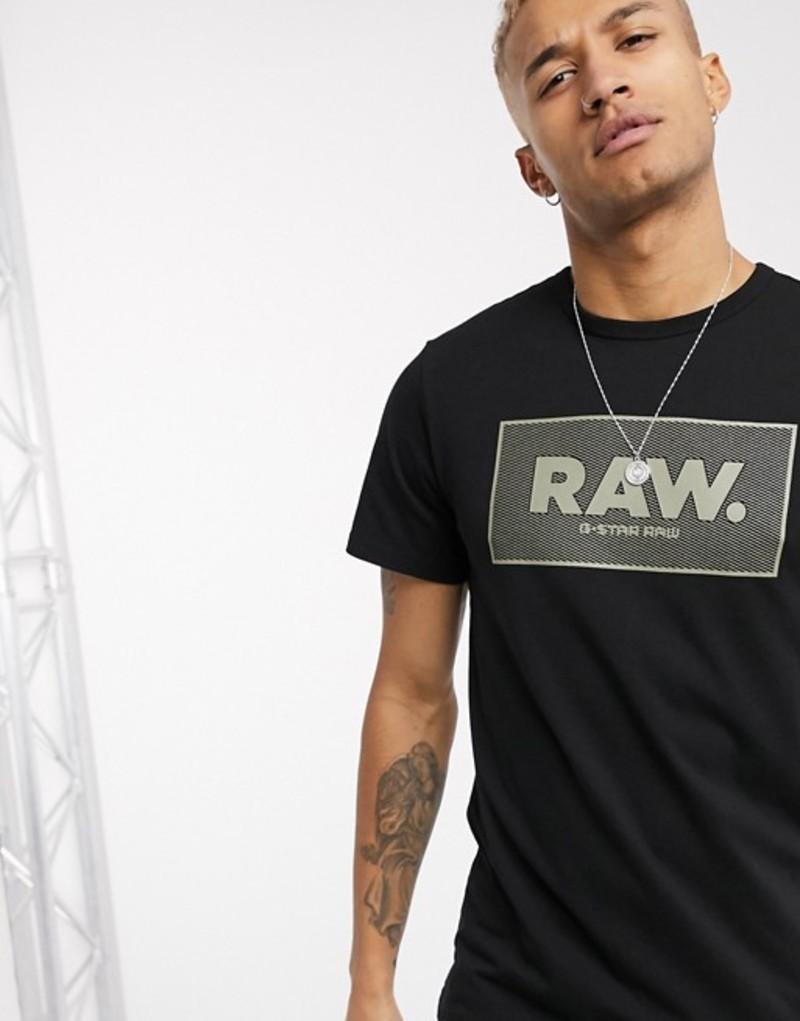ジースター メンズ シャツ トップス G-Star Raw. t-shirt in black Black