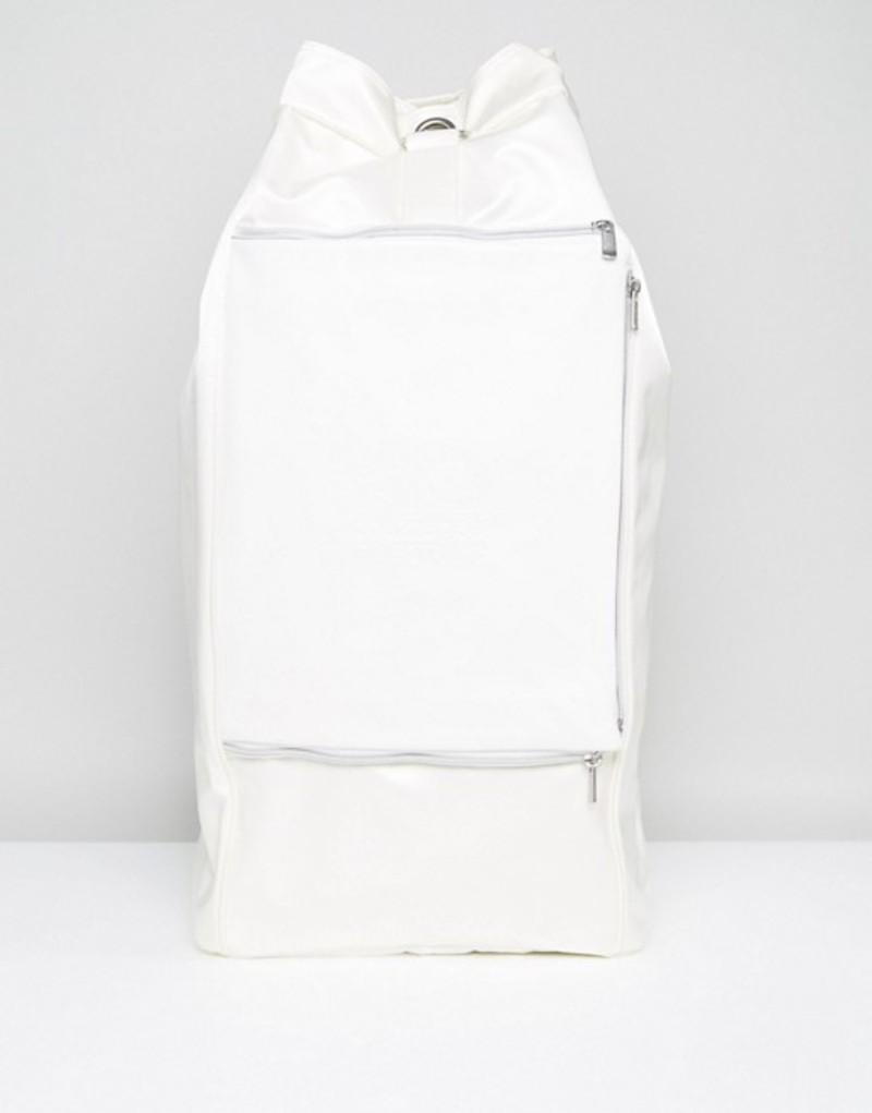 イーストパック メンズ ボストンバッグ バッグ Eastpak Plister Duffel Bag In Ice Fabric White