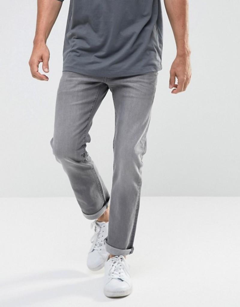 ジースター メンズ デニムパンツ ボトムス G-Star Revend Straight Jeans Grey