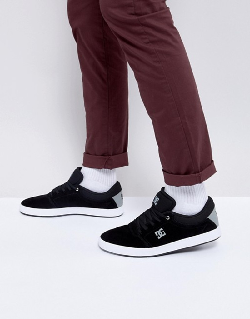 ディーシー メンズ スニーカー シューズ DC Shoes Crisis Suede Sneakers Black