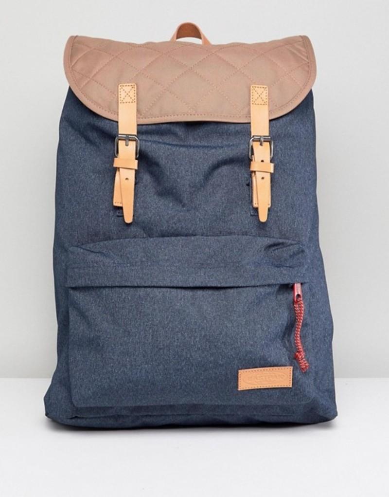 イーストパック メンズ バックパック・リュックサック バッグ Eastpak London Quilted Backpack Blue