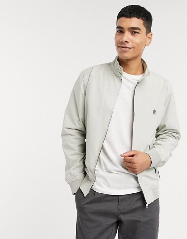 フレンチコネクション メンズ ジャケット・ブルゾン アウター French Connection harrington jacket Stone