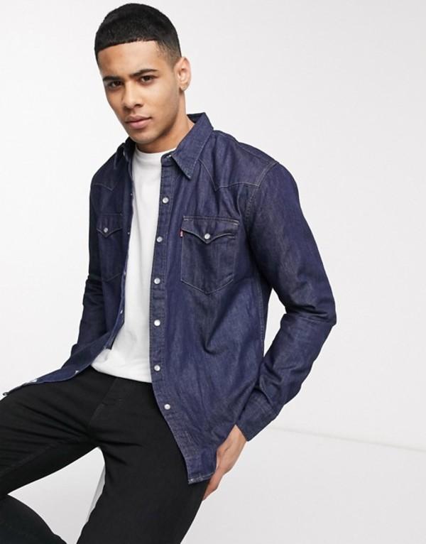 リーバイス メンズ シャツ トップス Levi's barstow western shirt Black