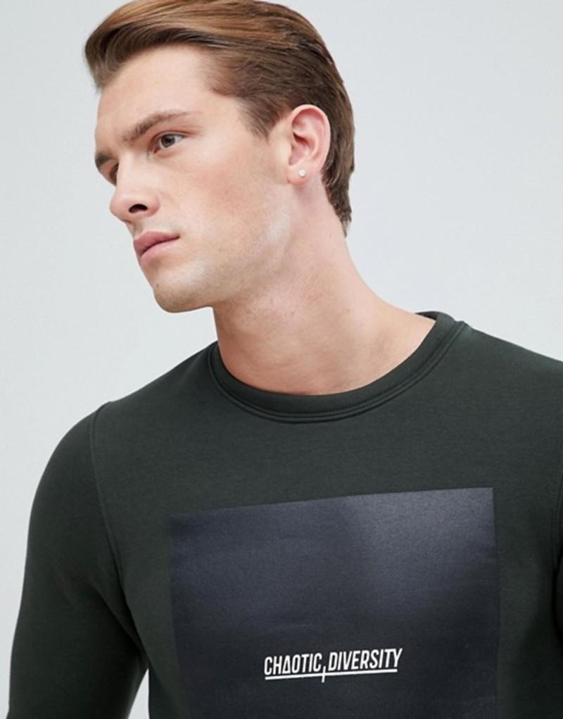ジャック アンド ジョーンズ メンズ パーカー・スウェット アウター Jack & Jones Core Sweatshirt With Graphic Rosin