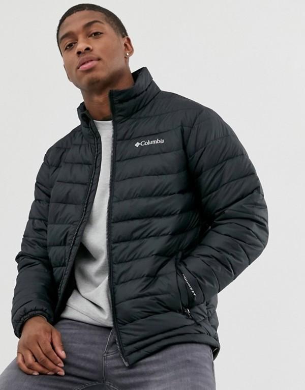 コロンビア メンズ ジャケット・ブルゾン アウター Columbia Powder Lite jacket in black Black