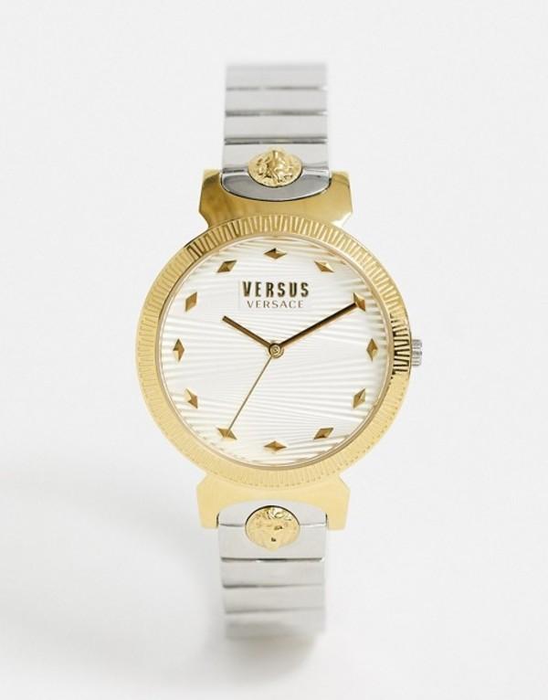 ヴェルサス ヴェルサーチ レディース 腕時計 アクセサリー Versus Versace Brigitte watch in beige Beige