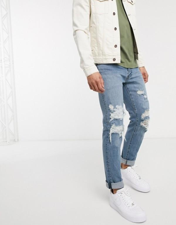 リーバイス メンズ デニムパンツ ボトムス Levi's 511 slim jeans Blue