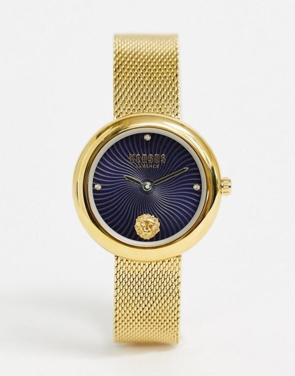 ヴェルサス ヴェルサーチ レディース 腕時計 アクセサリー Versus Versace Lea bracelet watch in gold Gold
