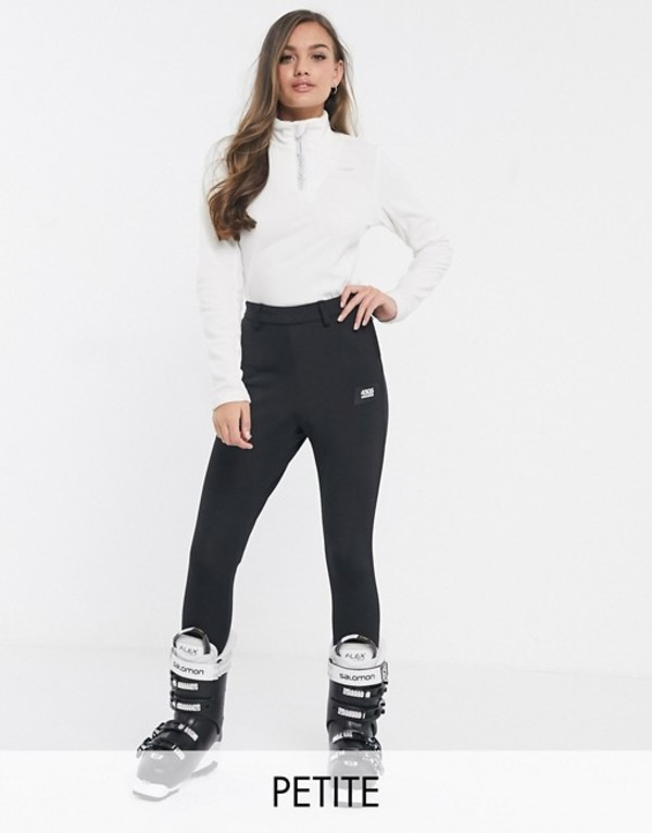 エイソス レディース カジュアルパンツ ボトムス ASOS 4505 Petite ski super skinny pants with stirrup Black
