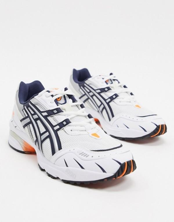 アシックス メンズ スニーカー シューズ Asics SportStyle gel 1090 sneakers in white White