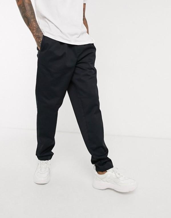 フレッドペリー メンズ カジュアルパンツ ボトムス Fred Perry drawstring twill pants in navy Navy