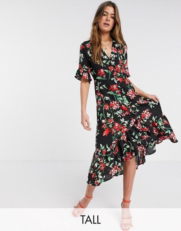 ワイエーエス レディース ワンピース トップス Y.A.S Tall Davida floral maxi dress Floral
