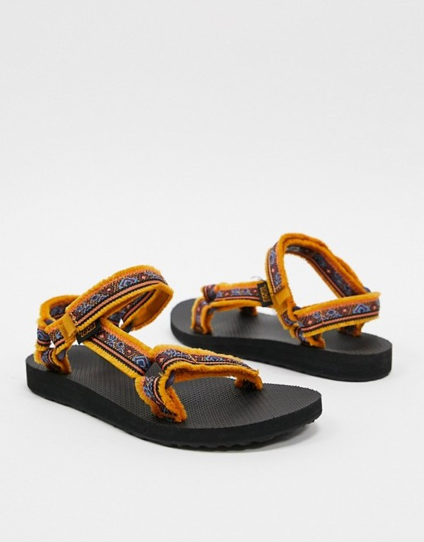 テバ レディース サンダル シューズ Teva Maressa sandals in sunflower Sunflower multi