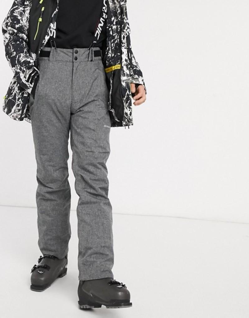サーファニック メンズ カジュアルパンツ ボトムス Surfanic Comrade ski pants in gray Gray
