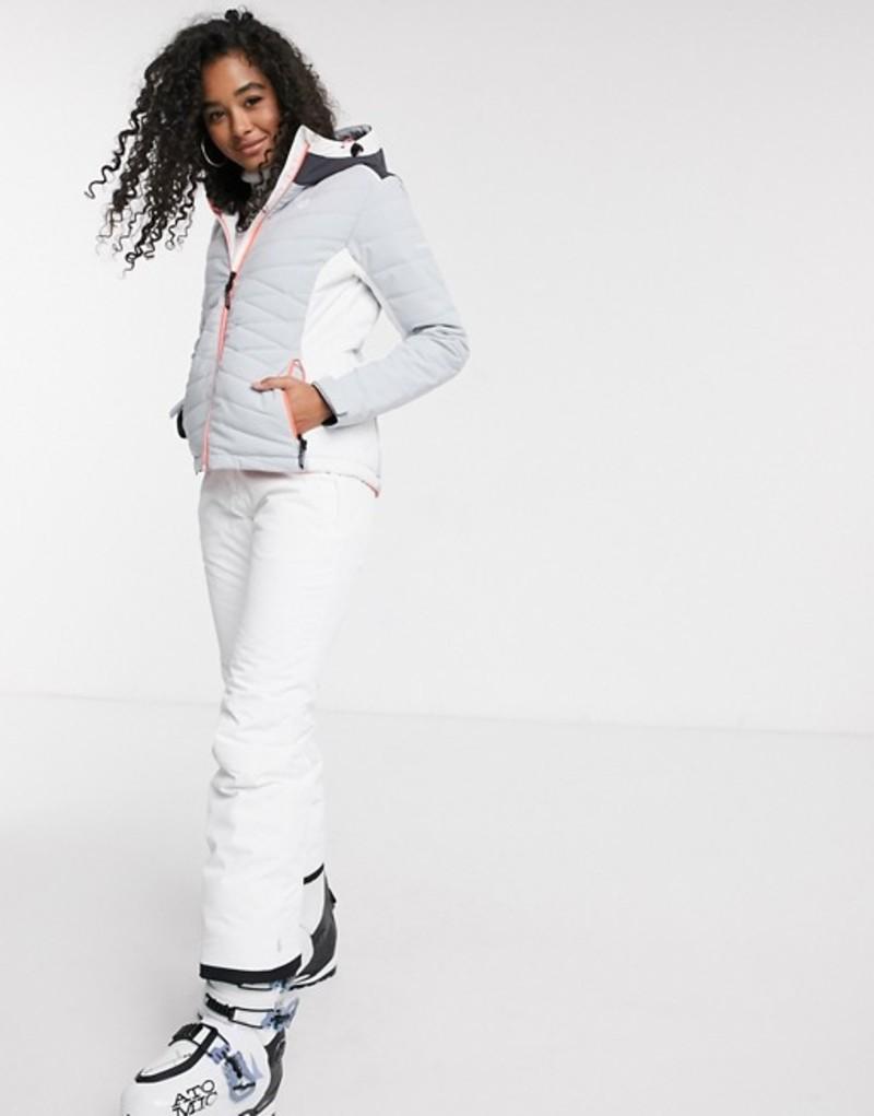 デアツービー レディース カジュアルパンツ ボトムス Dare2b Extort ski pants in white White