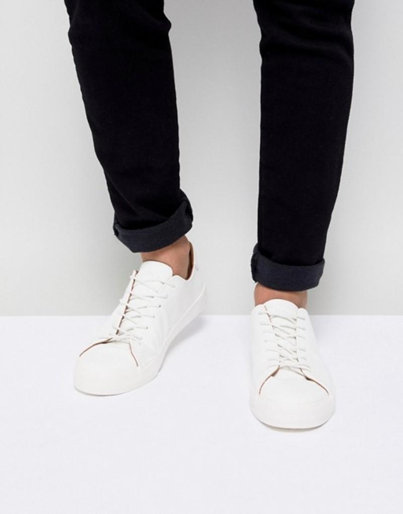 ニュールック メンズ スニーカー シューズ New Look Sneakers In White White