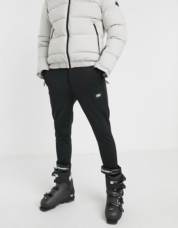 エイソス メンズ カジュアルパンツ ボトムス ASOS 4505 skinny fit ski pant in black Black