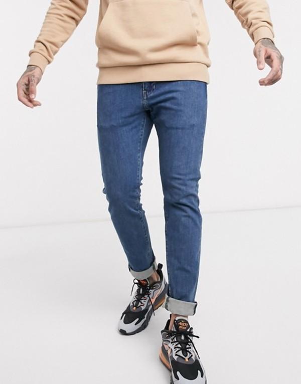 リーバイス メンズ デニムパンツ ボトムス Levi's 510 skinny fit jeans in delray pier 4-way stretch mid wash Way stretch