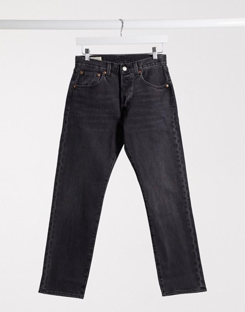 送料無料 サイズ交換無料 リーバイス メンズ ボトムス デニムパンツ Black Levi's 501 ギフト プレゼント ご褒美 cropped black '93 straight in washed 1着でも送料無料 jeans fit
