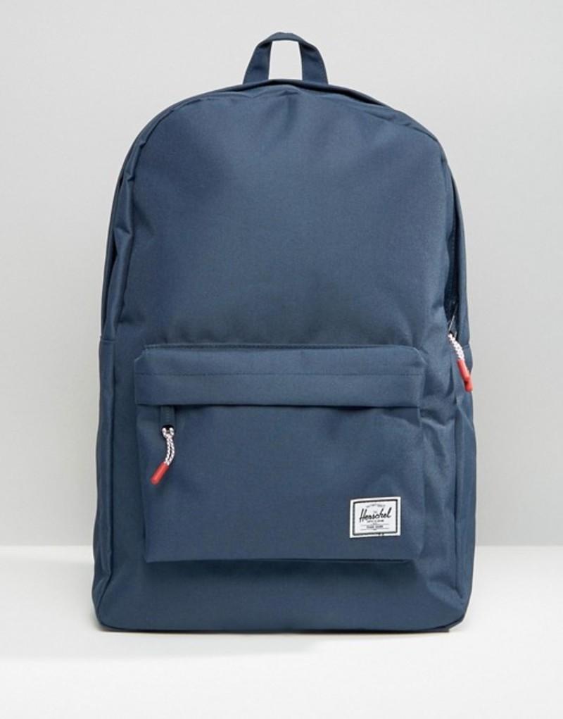 ハーシャル メンズ バックパック・リュックサック バッグ Herschel Supply Co 20L Classic Backpack Navy