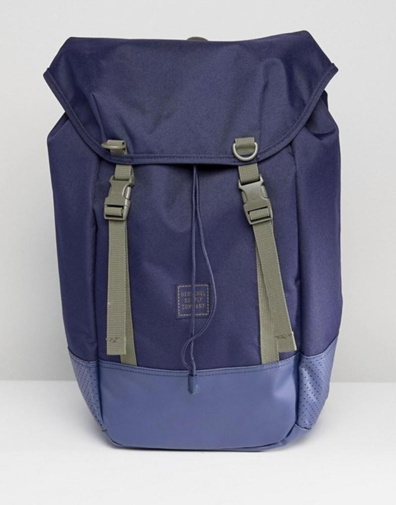 ハーシャル メンズ バックパック・リュックサック バッグ Herschel Supply Co Iona Aspect Backpack 24L Navy