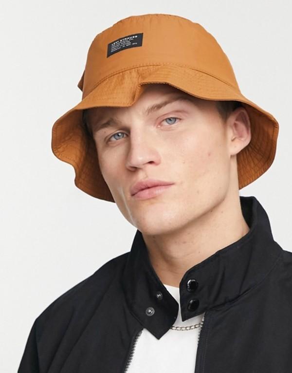 送料無料 サイズ交換無料 リーバイス メンズ メーカー直送 アクセサリー 帽子 Tan hat tan pocket 新着セール Levi's bucket in with