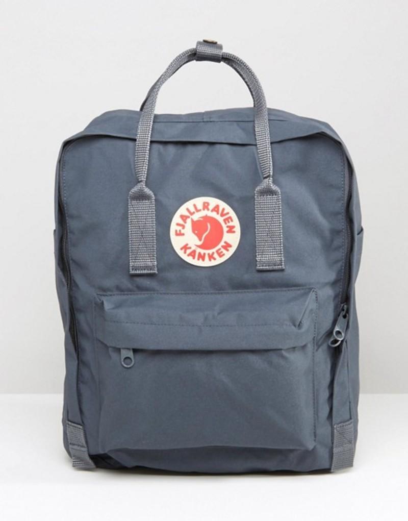 フェールラーベン メンズ バックパック・リュックサック バッグ Fjallraven Kanken 16L Backpack Dark Gray Grey