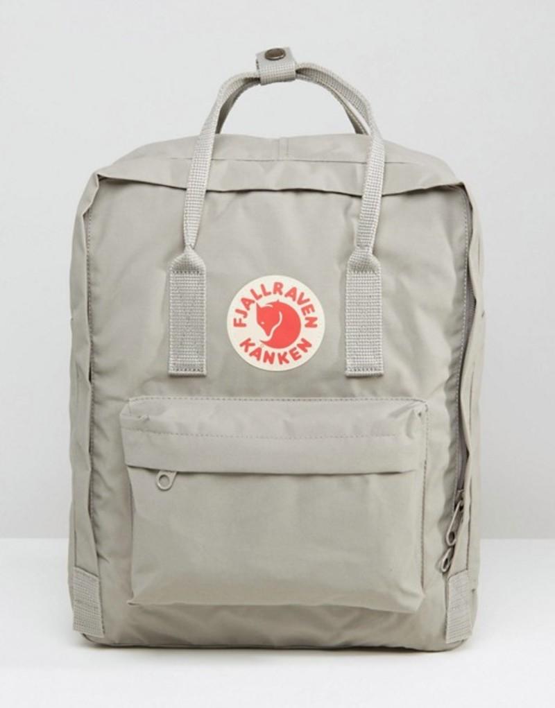 フェールラーベン メンズ バックパック・リュックサック バッグ Fjallraven Kanken 16L Backpack Gray Grey