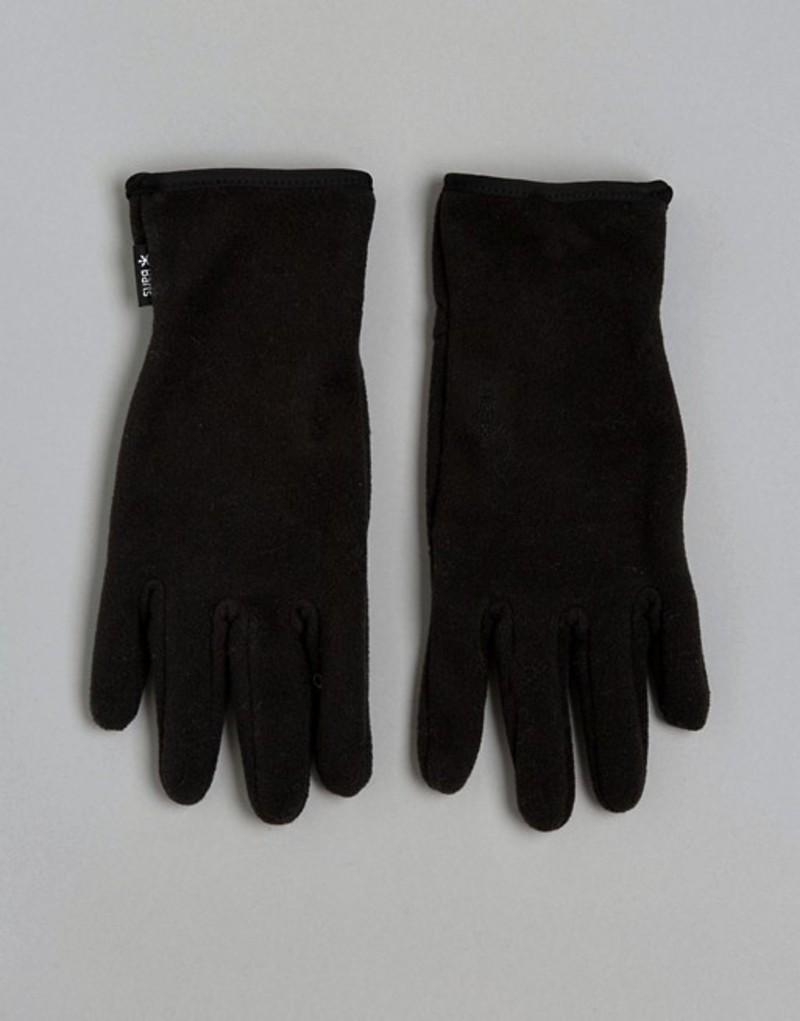 バーツ メンズ 手袋 アクセサリー Barts Gloves With Palm Silicone Print Black