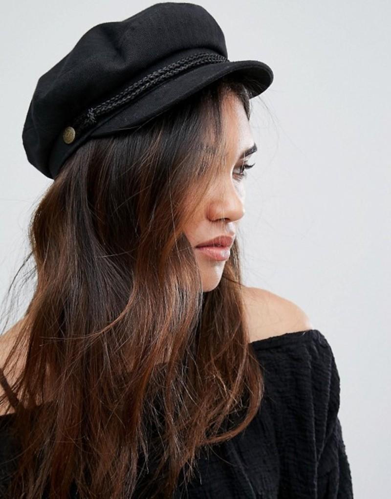 ブリクストン レディース 帽子 アクセサリー Brixton Baker Boy Hat in Black Black