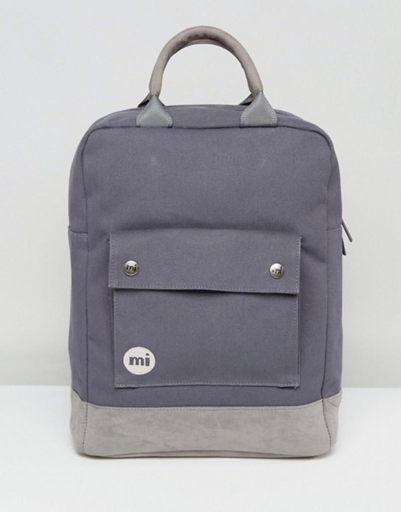 マイ・パック レディース バックパック・リュックサック バッグ Mi-Pac Tote Backpack in Charcoal Grey