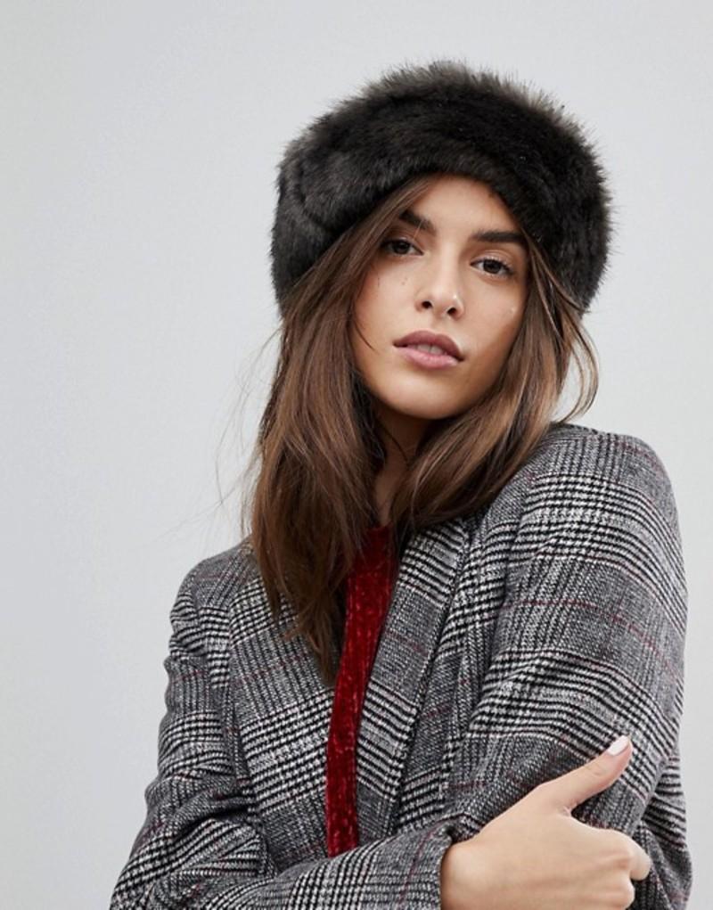 ブリクストン レディース 帽子 アクセサリー Brixton Hat with Faux Fur Trim 00797 grey