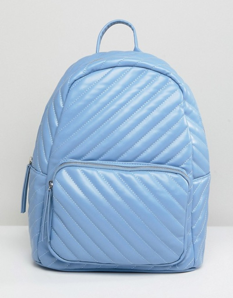 ピーシーズ レディース バックパック・リュックサック バッグ Pieces Quilted Backpack Kentucky blue