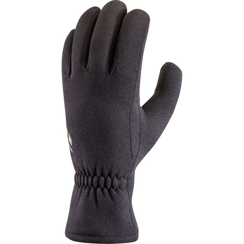送料無料 サイズ交換無料 ブラックダイヤモンド 正規認証品 新規格 メンズ アクセサリー 手袋 ScreenTap Liner Black Midweight 毎日がバーゲンセール Glove