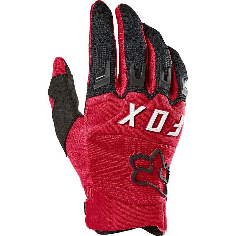 送料無料 サイズ交換無料 フォックスレーシング メンズ アクセサリー 手袋 Red Dirtpaw Flame 通信販売 限定タイムセール Glove