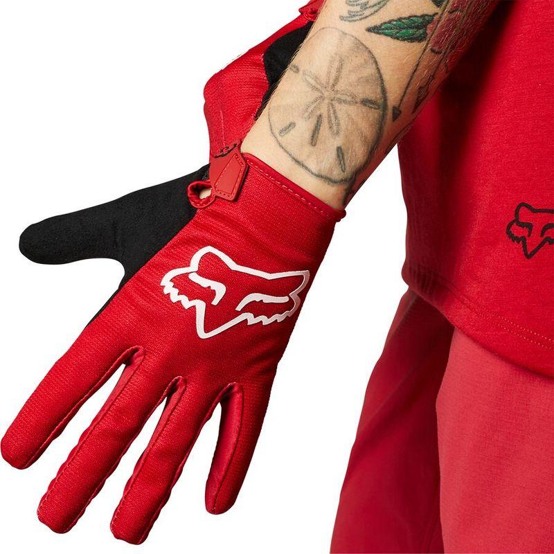 送料無料 爆売り サイズ交換無料 フォックスレーシング メンズ 完全送料無料 アクセサリー 手袋 Ranger Glove Chili