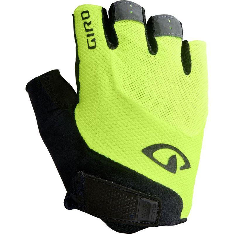 送料無料 サイズ交換無料 日本最大級の品揃え ジロ メンズ アクセサリー 手袋 Glove Gel Highlight 価格 交渉 送料無料 Yellow Bravo