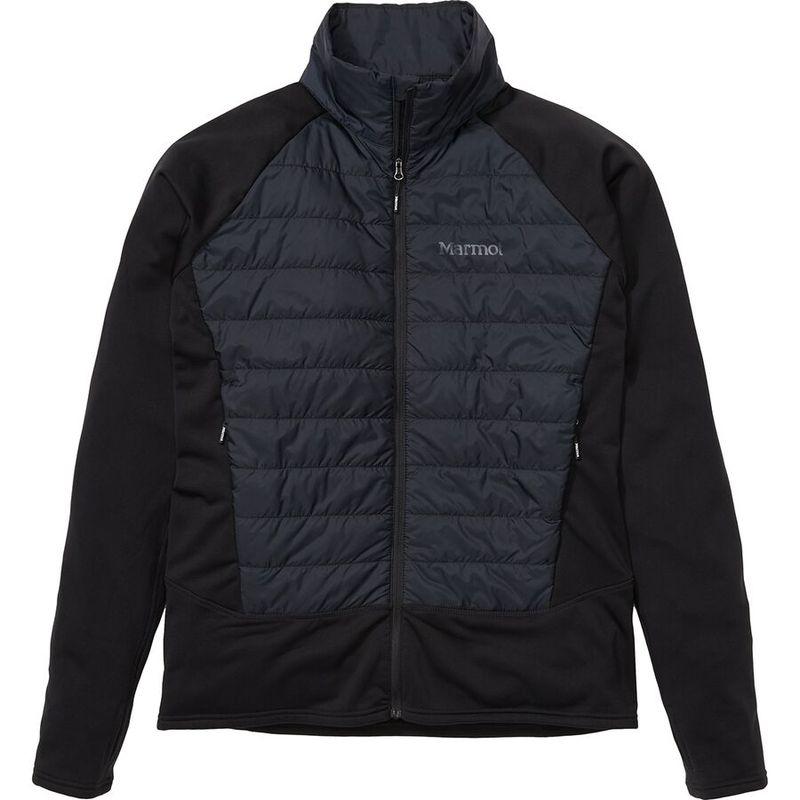 定番スタイル 送料無料 サイズ交換無料 マーモット メンズ アウター ジャケット Black ブルゾン Hybrid Variant Fleece Jacket オンラインショップ