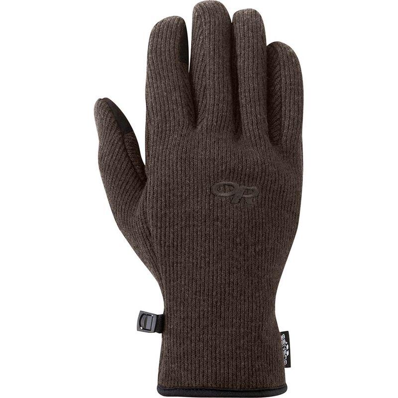 送料無料 サイズ交換無料 アウトドアリサーチ メンズ アクセサリー 手袋 舗 オンライン限定商品 Grizzly Sensor Flurry Brown Glove