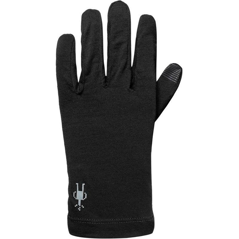 送料無料 サイズ交換無料 スピード対応 全国送料無料 スマートウール メンズ アクセサリー 手袋 Black Glove 150 サービス Merino