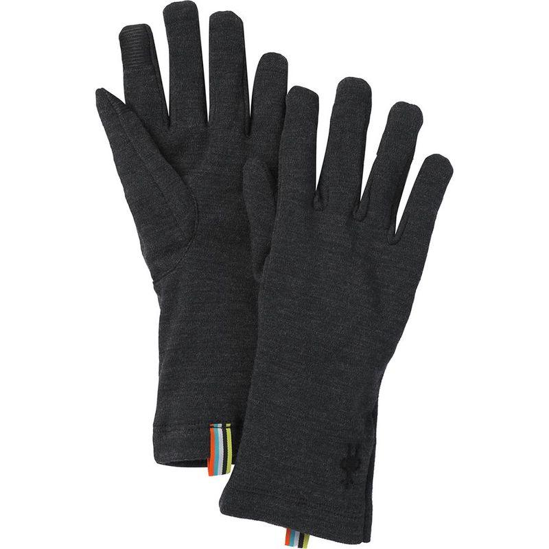 送料無料 サイズ交換無料 スマートウール オリジナル メンズ アクセサリー 日本最大級の品揃え 手袋 Glove 250 Charcoal Heather Merino