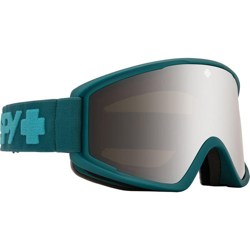送料無料 サイズ交換無料 スパイ メンズ アクセサリー サングラス アイウェア Elite Matte HD Crusher Silver 贈り物 with Bronze Goggles Teal Mirror Spectra