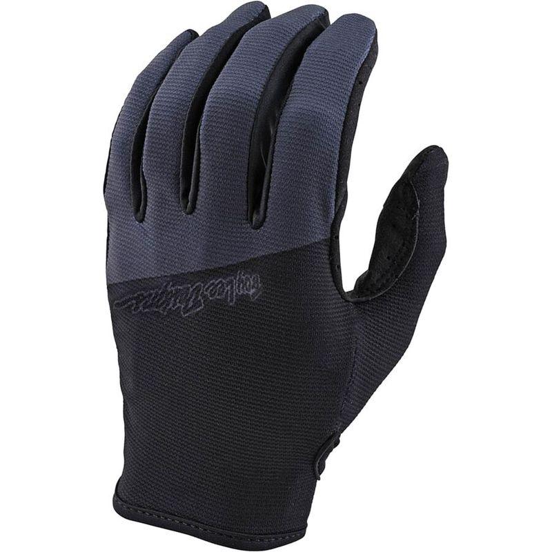 送料無料 サイズ交換無料 Seasonal Wrap入荷 トロイリーデザイン メンズ アクセサリー Black Flowline Glove 贈答品 手袋