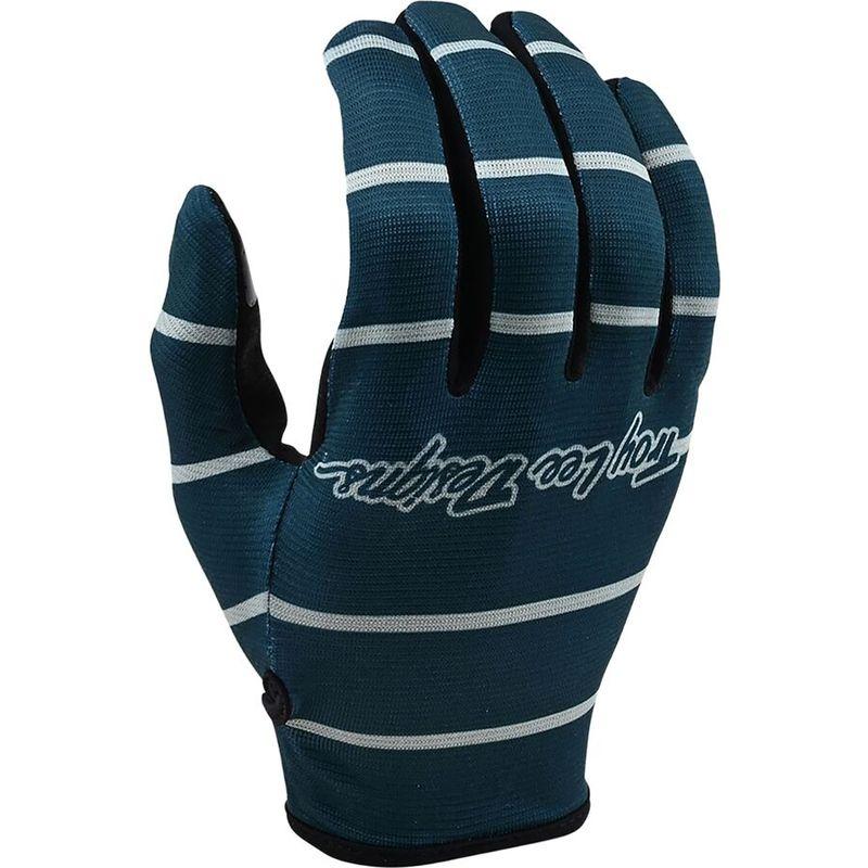 送料無料 爆売りセール開催中 サイズ交換無料 トロイリーデザイン 即納 メンズ アクセサリー 手袋 Gray Flowline Blue Stripe Glove