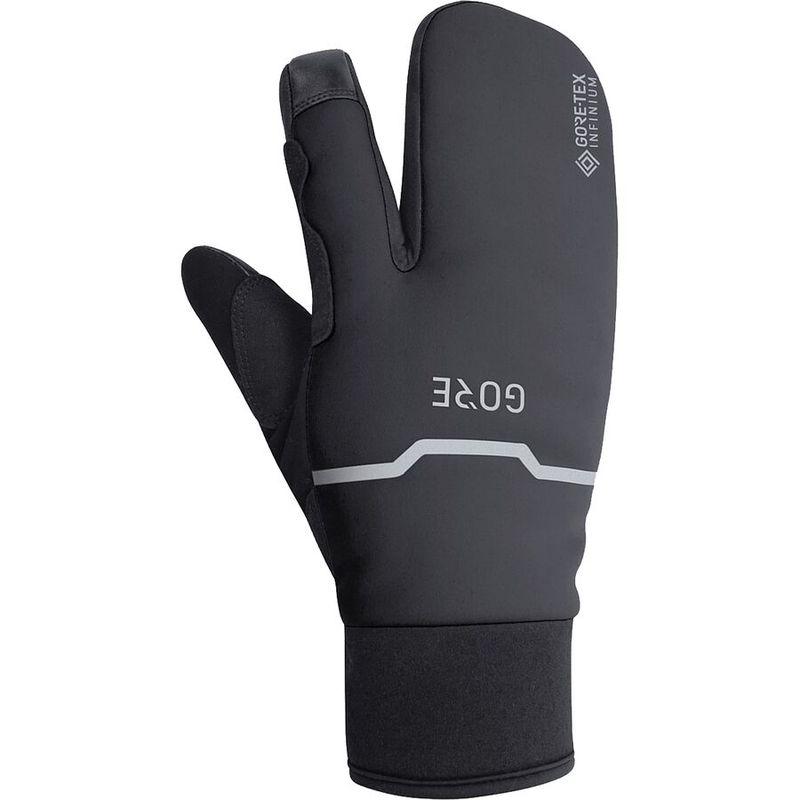 送料無料 サイズ交換無料 ゴアウェア メンズ アクセサリー 手袋 Black ゴアウェア メンズ 手袋 アクセサリー GORE-TEX Infinium Thermo Split Glove Black